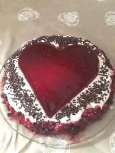 CHEESE CAKE STACCIATELLA E FRUTTI ROSSI
