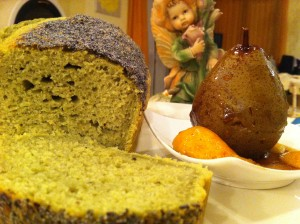 Plum cake the macha