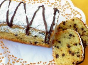 plumcake gocce ciocco