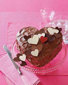 torta cuore cioccolato