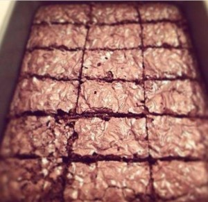 BROWNIE ALLO YOGURT